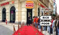 Hunger King: pénzt osztanak az Opera mellett ma nyitó fake gyorsétteremben