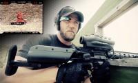 Kanyarlövő gépfegyver Google Glass-szal