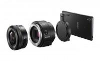 A Sony E-mount objektív-kamerát villant: ILCE-QX1