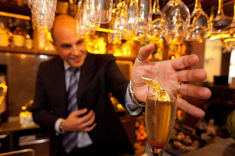 Gigi's in Mayfair crafts the world's most expensive cocktail priced at nearly $14,500!