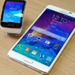 Samsung Gear S and Samsung Galaxy Note 4