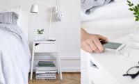 Az új IKEA éjjeliszekrény vezeték nélkül tölti fel a ráhelyezett Galaxy S6-ot