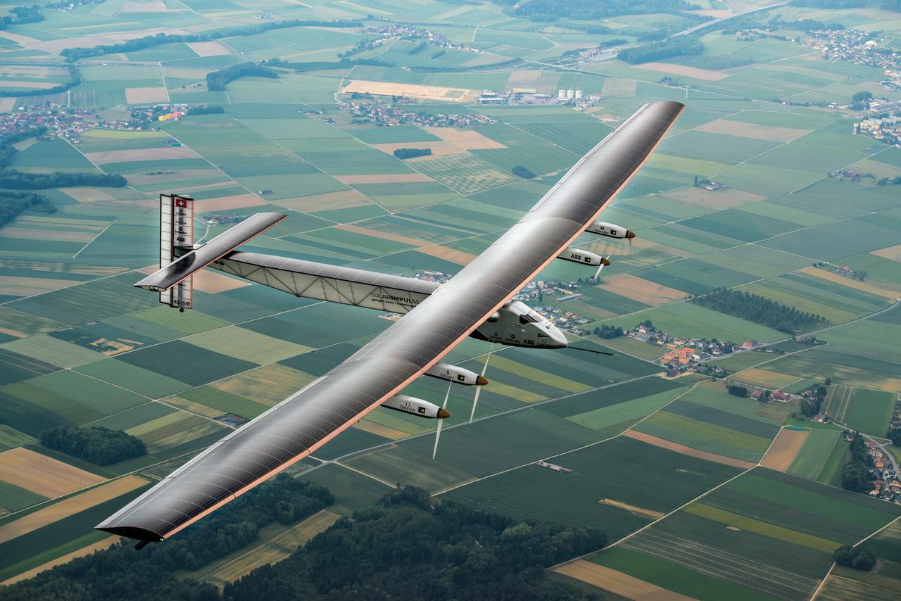 Solar Impulse 2 first flightSolar Impulse | Revillard | Rezo.ch
