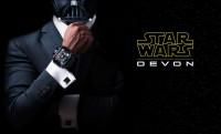 Star Wars luxusóra Tie Fighter mandzsettagombokkal 8 milláért