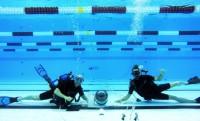 Távvezérelt kamerával készülnek az olimpia legdurvább víz alatti felvételei