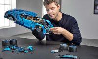 Bugatti Chiron LEGO szett 8 gangos váltóval